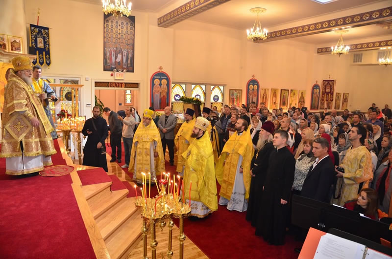 Радостное событие в православной жизни Нью-Йорка - новый просторный и благоукрашенный храм в Бруклине
