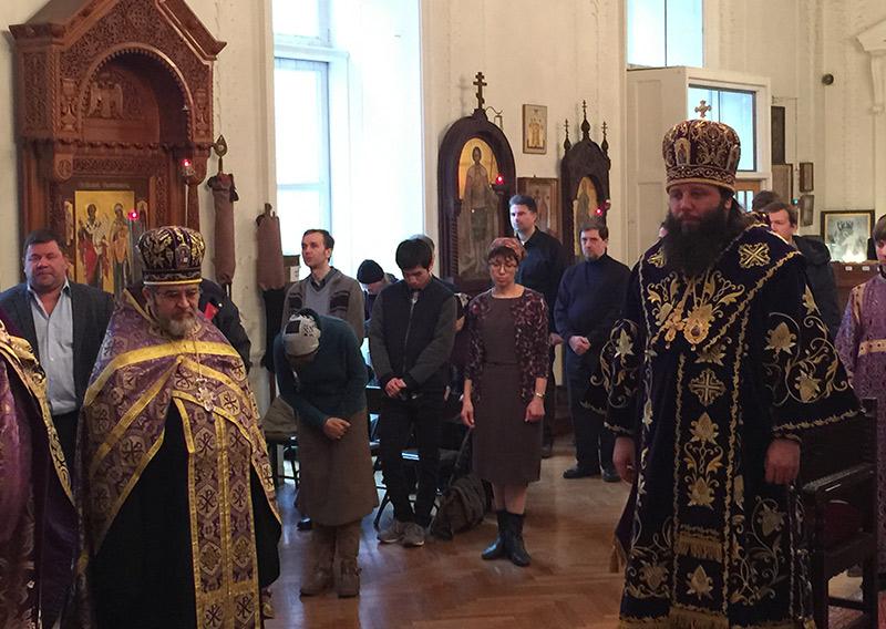 Благочинный Нью-Йоркского округа протоиерей Александр Беля принял участие в соборном богослужении в Неделю Торжества Православия
