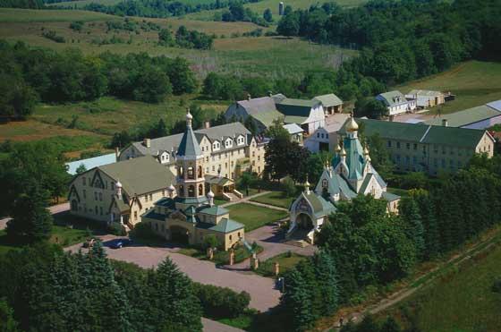 Джорданвилль: Троицкий  монастырь молитвенно отметил престольный праздник