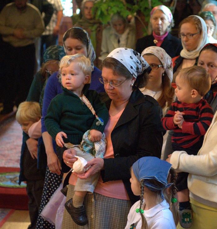 Джорданвилль: Первоиерарх РПЦЗ возглавил богослужения в Духов день в Троицком монастыре