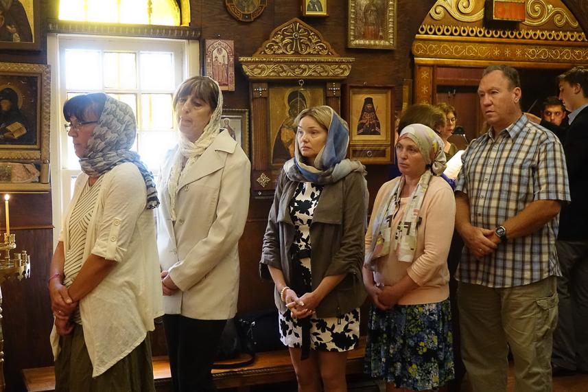 28 июня - Глен-Ков, Нью-Йорк: Первоиерарх РПЦЗ посетил Свято-Покровский храм