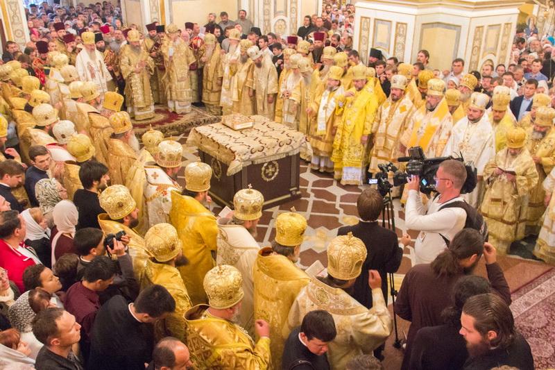 Празднование 1000-летия преставления князя Владимира в Киеве