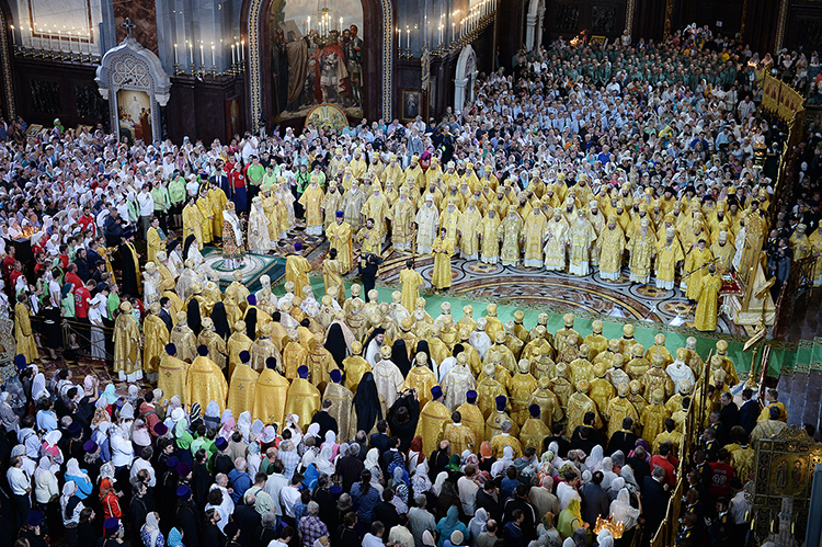 Празднование 1000-летия преставления князя Владимира в Москве