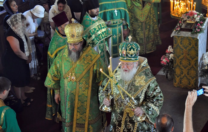 Первоиерарх возглавил празднование малого престольного праздника в Успенской обители