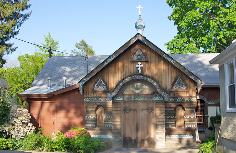 Покровский храм в Глен-Кове