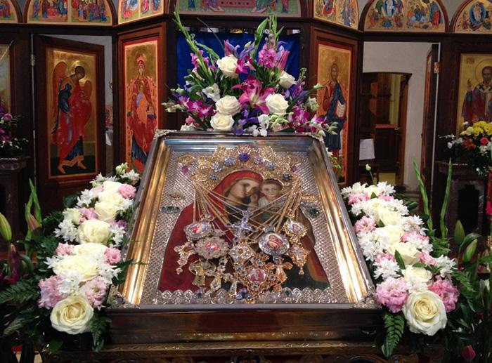 Боянская икона Божией Матери