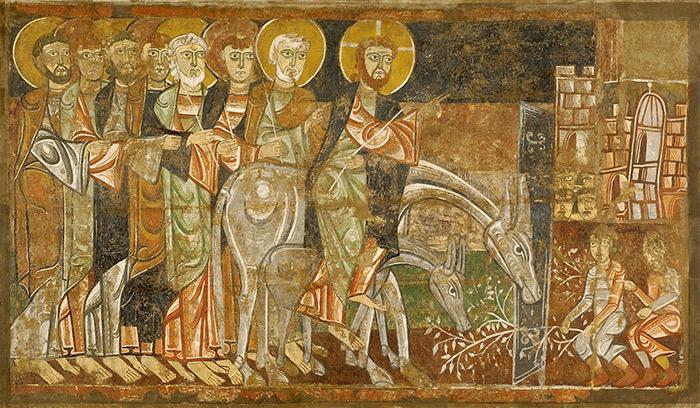 Икона праздника Входа Господня в Иерусалим