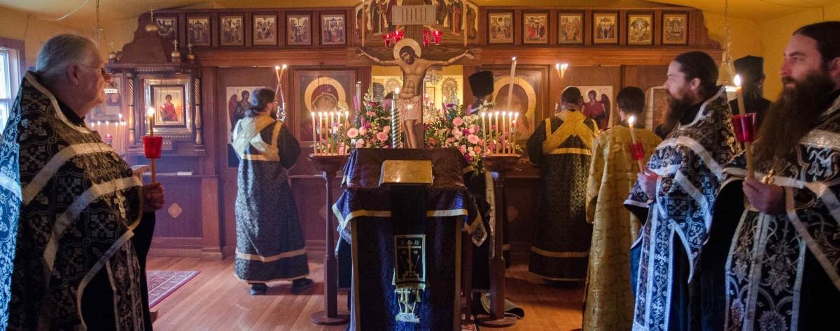Крестовоздвиженский мужской монастырь в Западной Вирджинии