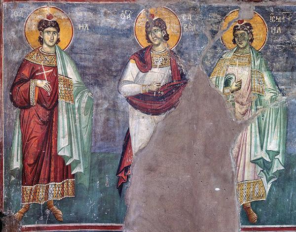 Мученики Мануил, Савел и Исмаил (+363)