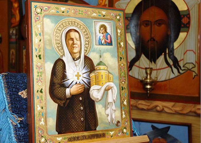 Матрона Московская. Икона. Сайт Нью-Йорского благочиния