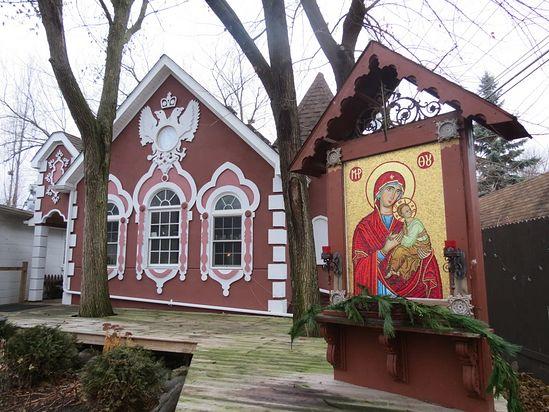Монастырь святого Саввы Освященного в Мичигане
