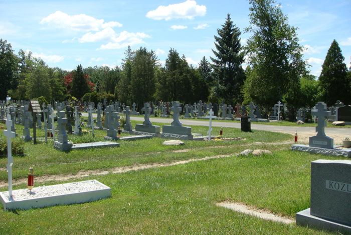 Ново-Дивеевский Успенский женский монастырь. Кладбище