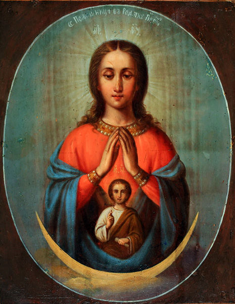 Икона Пресвятой Богородицы «Помощница в родах»