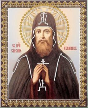 Преподобный Силуан, схимник Печерский (XIV)