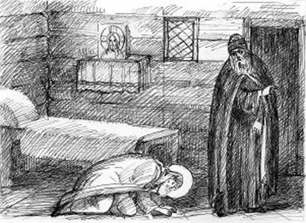 Преподобные Тит пресвитер и Тит воин Киево-Печерские