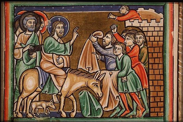 Празднование Входа Господнего в Иерусалим в разных православных странах
