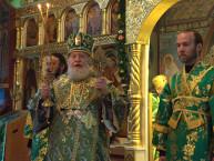 1 июня - Джорданвилль: Первоиерарх РПЦЗ возглавил богослужения в Духов день в Троицком монастыре