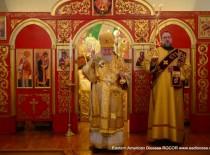 Митрополит Иларион возглавил престольный праздник храма свв. новомучеников