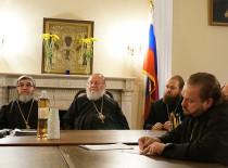 Встреча духовенства Первого благочиннического округа Восточно-американской епархии Русской Зарубежной Церкви