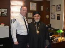 Бруклин: Состоялась встреча благочинного Нью-Йорка с начальником окружной полиции