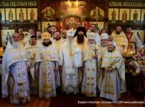 Ховелл, Нью-Джерси. Престольный праздник Св. Георгиевского храма возглавил тезоименитый епископ Мэйфильдский Георгий