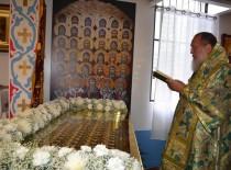 В Иоанно-Предтеченском храме состоялось торжественное открытие раки мощей