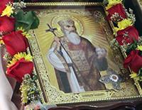 В Бруклин привезли мощи Крестителя Руси князя Владимира