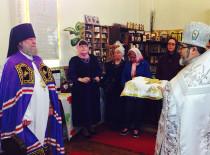 В день праздника Вознесения Господня Божественную литургию в Иоанно-Предтеченском соборе возглавил епископ Иероним