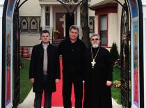 В Иоанно-Предтеченском соборе состоялась встреча благочинного Нью-Йоркского благочиния с ассемблеменом Алеком Брук-Красным