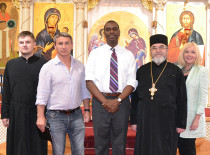 Иоанно-Предтеченский собор посетил представитель президента Бруклина Гилфорд Монро