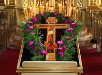 14 августа — праздник Вынесения Честного Креста Господня