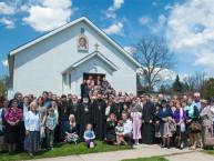 2 мая - Онтарио: В Кембридже освящен новый храм в честь святителя Тихона Патриарха Московского