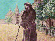 Преподобный Паисий Киевский, Христа ради юродивый