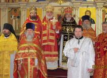 В Бруклинском соборе почтили память пророка Иоанна Предтечи и благоверного князя Александра Невского