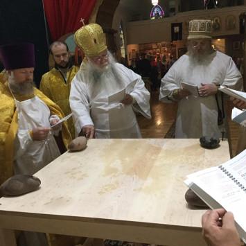 15 сентября – Мичиган: В Хоутоне освящен храм в честь святых Сергия и Германа Валаамских
