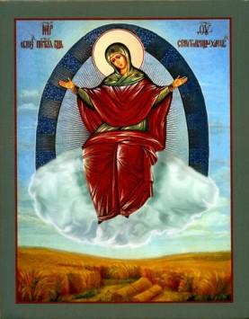 """Икона Пресвятой Богородицы """"Спорительница хлебов"""""""