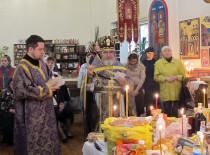 В Дмитриевскую родительскую субботу в Иоанно-Предтеченском соборе были совершены заупокойные богослужения