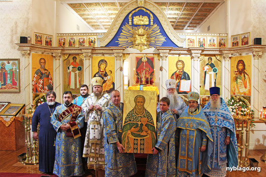 Участники празднования 25-летия канонизации праведного Иоанна Кронштадтского вместе помолились в Бруклинском соборе