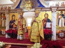 В день святого Николая праздничное богослужение в Бруклинском соборе возглавил епископ Иероним