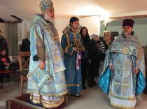 Архиепископ Гавриил посетил храм в честь иконы «Нечаянная Радость»