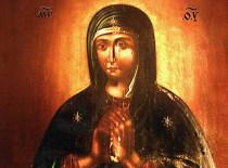 Прилуцкая икона Божией Матери «Скорбящая»