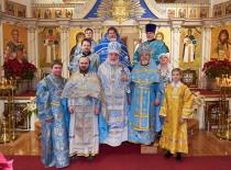 В день праздника Сретения Господня, Бруклинский собор посетил архиепископ Монреальский и Канадский Гавриил