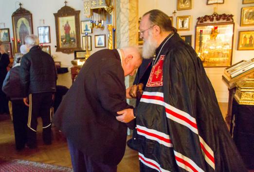 13 марта - Нью-Йорк: Первоиерарх Русской Православной Церкви Заграницей благословил верующих на начало Великого поста