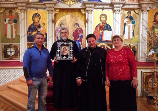 5-6 марта в Бруклинском соборе святого Иоанна Предтечи пребывала чудотворная Гавайская мироточивая икона Божией Матери.