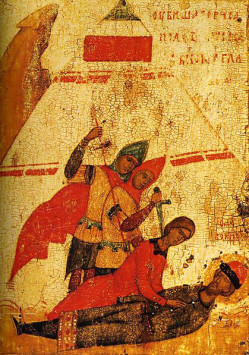 Мученики-страстотерпцы Борис и Глеб – первые русские святые