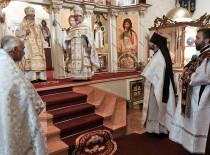 В день Вознесения Господня праздничное богослужение в Бруклинском соборе возглавил Первоиерарх Русской Зарубежной Церкви