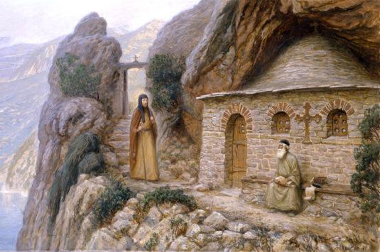 Преподобный Антоний Печерский (+1073)