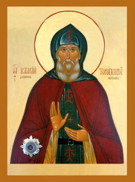 Преподобный Исаакий, затворник Печерский (+1090)