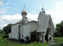 Храм-памятник праведного Иоанна Кронштадтского в Ютике