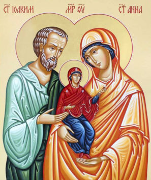 Праведные Богоотец Иоаким и Анна
